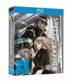 Speedgrapher-Box, 4 Blu-rays