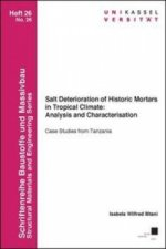 Salt Deterioration of Historic Mortars in Tropical Climate: Analysis and Characterisation