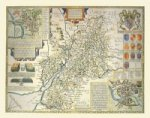 John Speeds Map of Gloucestershire 1611