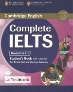 Complete IELTS Bands 6.5-7.5 Student's Book with answers with CD-ROM with Testbank