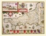 John Speeds Map of Cornwall 1611