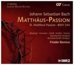 Matthäus Passion BWV 244, 3 Super-Audio-CDs (hybrid / Limited Deluxe Edition)