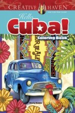 Creative Haven Hello Cuba! Coloring Book
