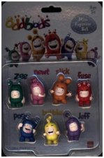 Oddbods Action Pack 7 Figurines