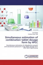 Simultaneous estimation of combination tablet dosage form by HPLC