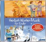 Herbst-Winter-Musik für Kinder, 1 Audio-CD