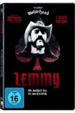 Lemmy - The Movie, 3 DVDs (Black Edition)