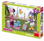 Minnie v Paříži - puzzle 24 dílků