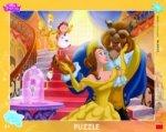 Kráska a zvíře - Puzzle 40 deskové
