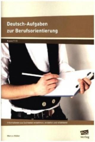 Deutsch-Aufgaben zur Berufsorientierung