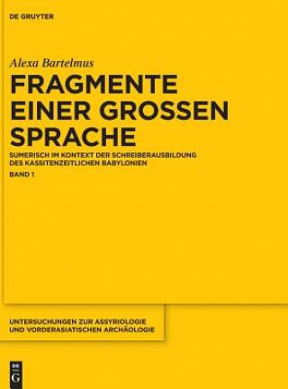 Fragmente einer grossen Sprache. Bd.1