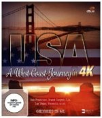 USA A West Coast Journey, 1 Blu-ray