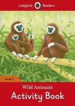 Wild Animals Activity Book - Ladybird Readers Level 2