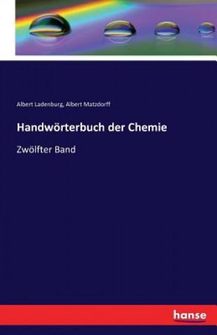 Handwoerterbuch Der Chemie