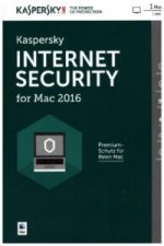 Kaspersky Internet Security for MAC 2016, 1 CD-ROM