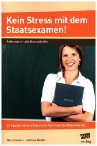 Kein Stress mit dem Staatsexamen!