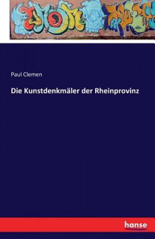 Kunstdenkmaler der Rheinprovinz