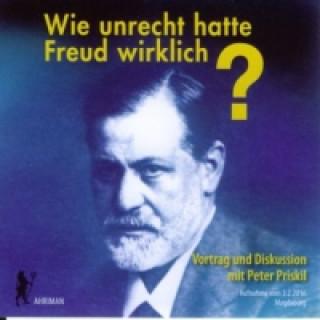 Wie unrecht hatte Freud wirklich?s