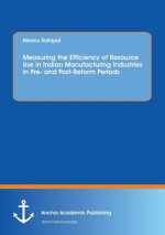 Measuring the Efficiency of Resource Use in Indian Manufacturing Industries in Pre- and Post-Reform Periods