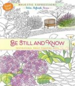 Adult Colouring Book: Be Still and Know (Travel Size)