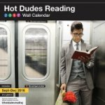 Hot Dudes Reading, Wall Calendar 2017