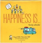 Happiness Is, Wall Calendar 2017