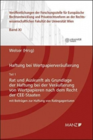 Haftung bei Wertpapierveräußerung. Tl.1