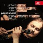 Houslové koncerty - Korngold/Strauss - CD