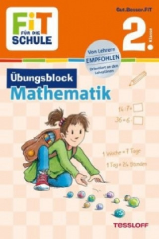 Fit für die Schule: Übungsblock Mathematik 2. Klasse