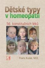 Dětské typy v homeopatii