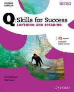 Q Skills for Success: Intro Level: Listening & Speaking Student Book with iQ Online