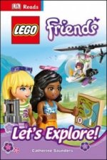 Dk Reads Lego Friends Let's Explore!