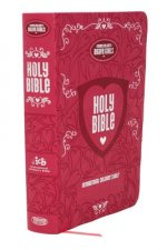 Tommy Nelson's Brave Girls Devotional Bible Pink Leathersoft
