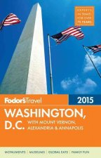 FODORS 2015 WASHINGTON DC WITH MOUNT VER