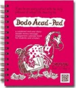 Dodo Mini Acad-Pad Pocket Diary 2015 - 2016 Week to View Academic Mid Year Diary