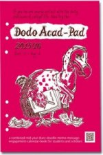 Dodo Acad-Pad Filofax-Compatible A5 Diary Refill 2015 - 2016 Week to View Academic Mid Year Diary