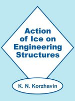 Action of Ice on Engineering Structures
