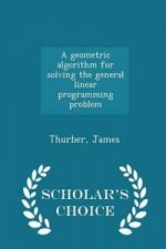 Geometric Algorithm for Solving the General Linear Programming Problem - Scholar's Choice Edition
