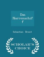 Narrenschiff - Scholar's Choice Edition