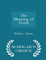Meaning of Truth - Scholar's Choice Edition