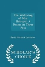 Widowing of Mrs. Holroyd; A Drama in Three Acts - Scholar's Choice Edition