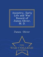 Ancestry, Early Life and War Record of James Oliver, M. D. - War College Series