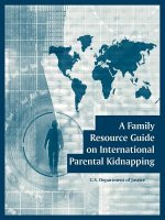 Family Resource Guide on International Parental Kidnapping