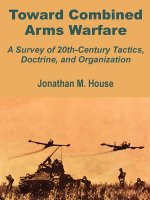 Toward Combined Arms Warfare