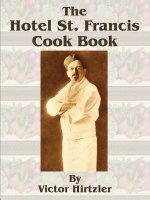 Hotel St. Francis Cook Book