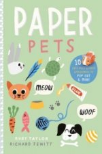 Paper Pets: 10 Cute Pets & Their Accessories to Pop Out & Make