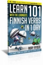 Learn 101 Finnish Verbs in 1 Day with the Learnbots