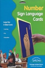 Number Sign Language Cards