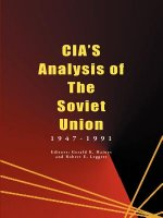 CIA's Analysis of the Soviet Union