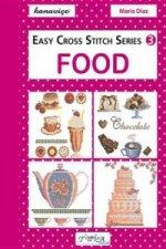 Easy Cross Stitch: Food